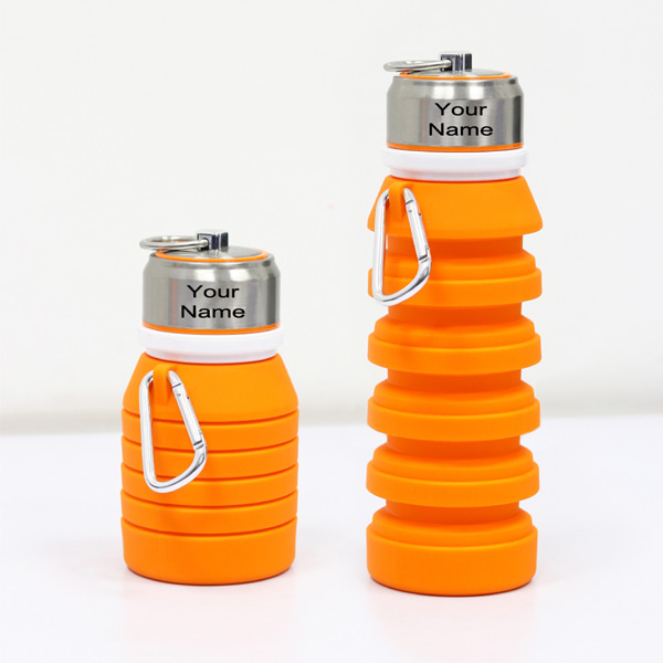 Collapsible Bottle Orange