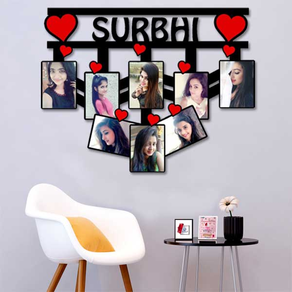 Personalized Wooden Name Frame