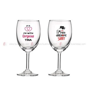 Wine Glass UV Print