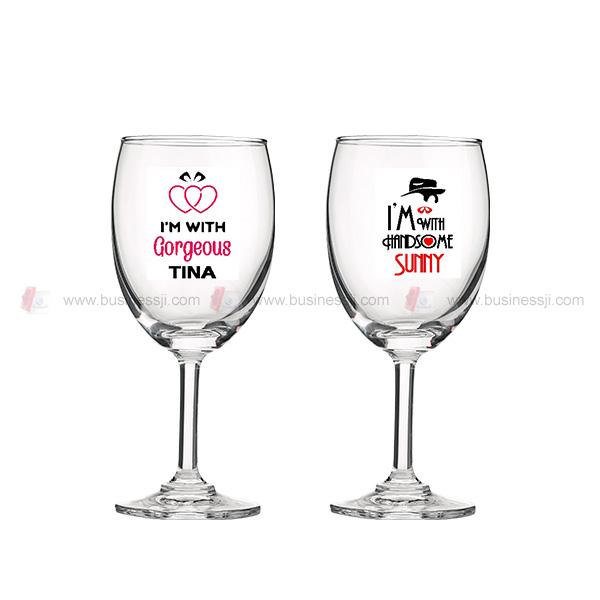 Wine Glass UV Print
