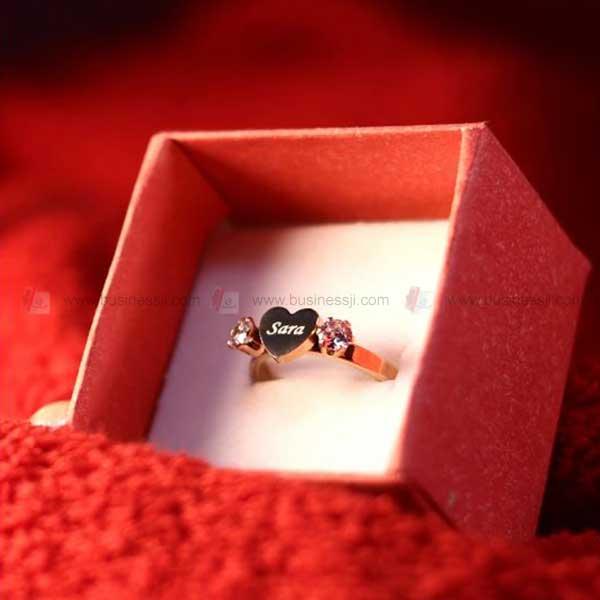 Heart Diamond Ladies Ring BJ