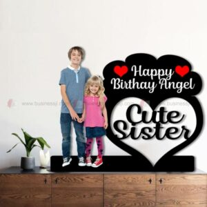 Cute Sister Table Standee