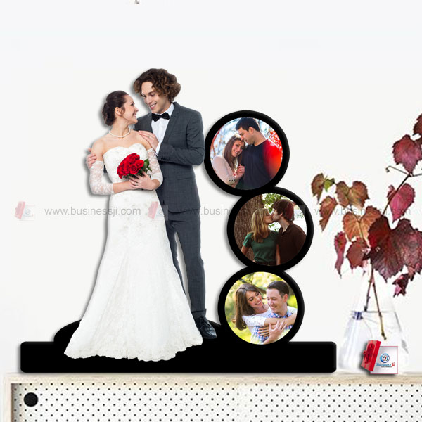 Multi Photo Couple Standee