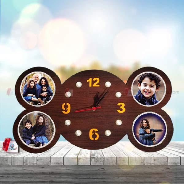 Round Family Clock