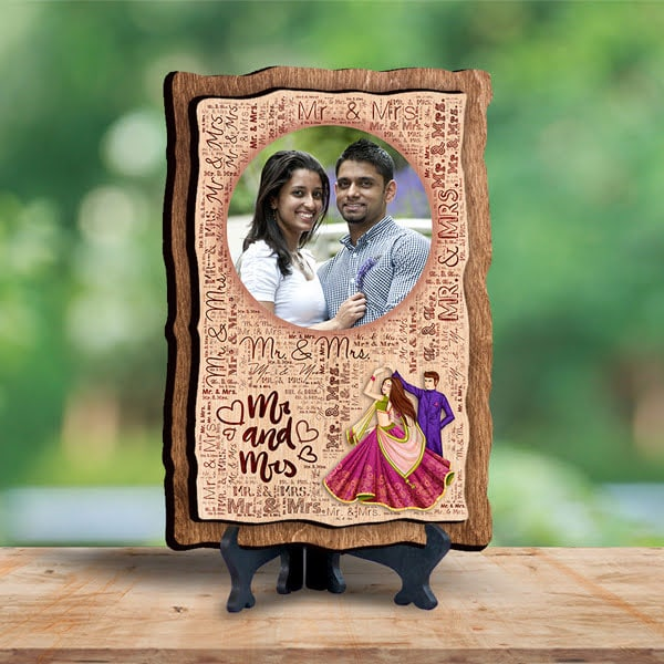 Mr Mrs Mosaic Plank