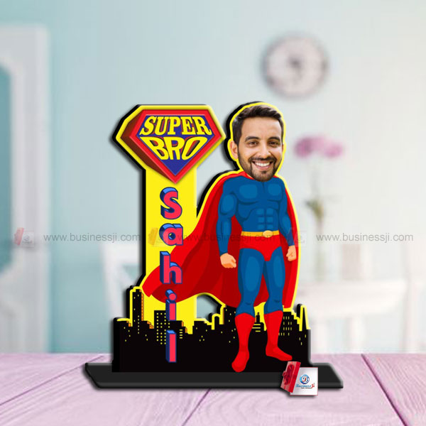 Super Bro Table Cutout