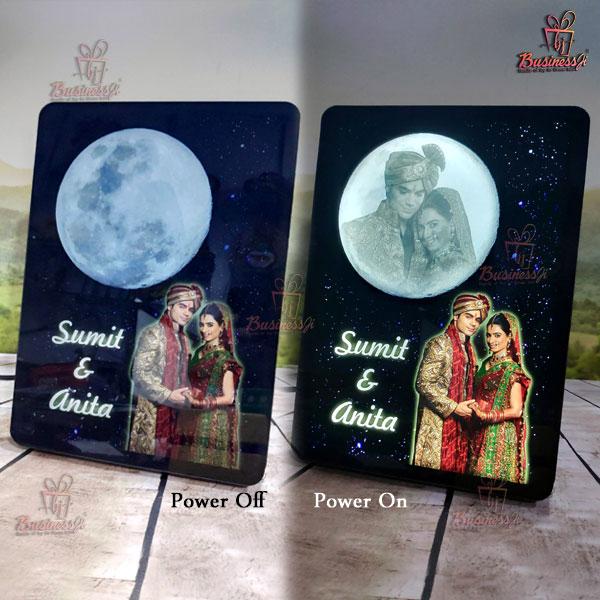 Magic LED Moon Stand