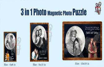 magnet puzzle frame