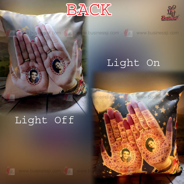 LED Magic Pillow Back