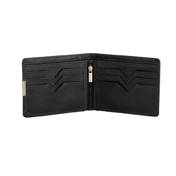 Men Wallet Black Leatherbj