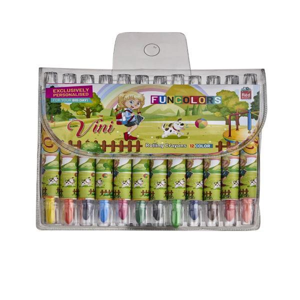 Rolling Crayons 12 Colorbj