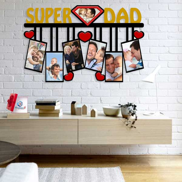 Super Dad Wall Collage