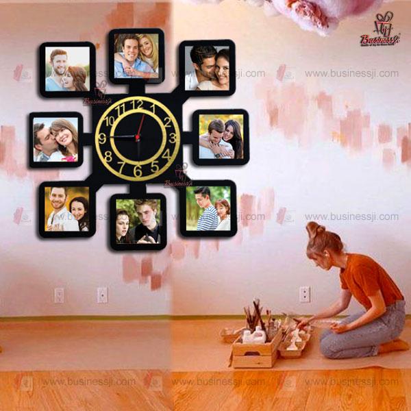 Wall Decor Photo Clock