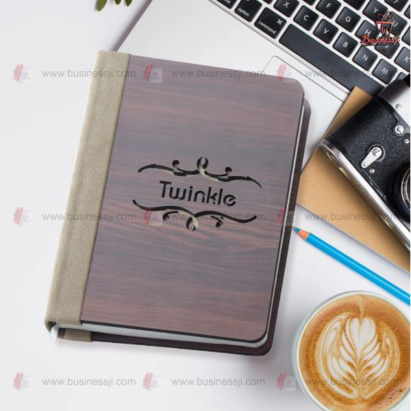 Personalized Name Cutout Diary