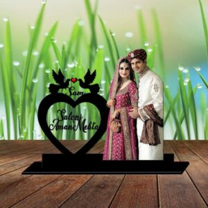 Loving Couple Table Frame
