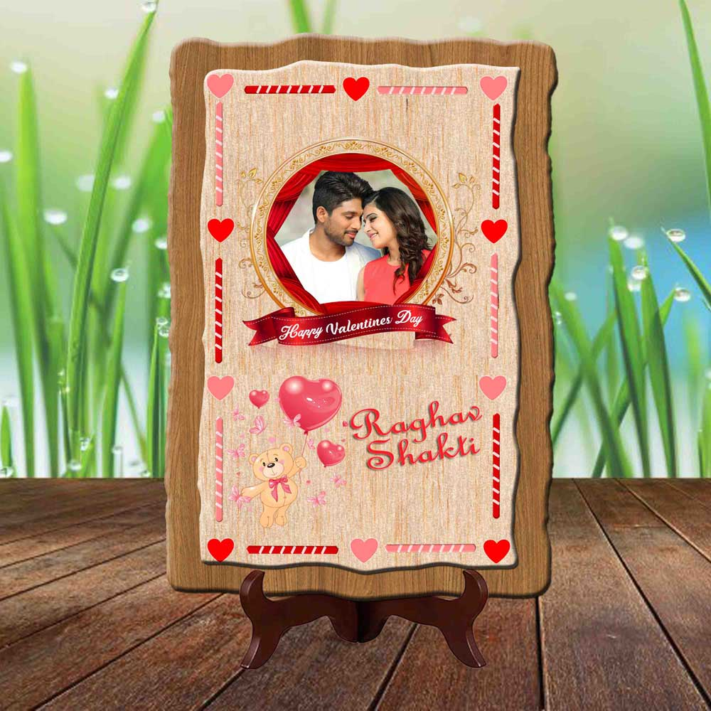 Valentine Photo Plaque