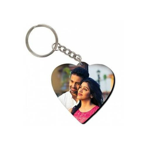 Heart Personalized Key Chain
