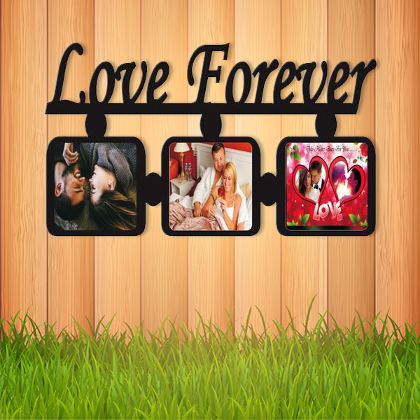 Love Forever Wooden Frame