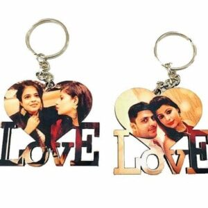 Love Photo Key Chain
