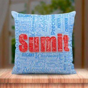 Name Mosaic Cushion BJ115