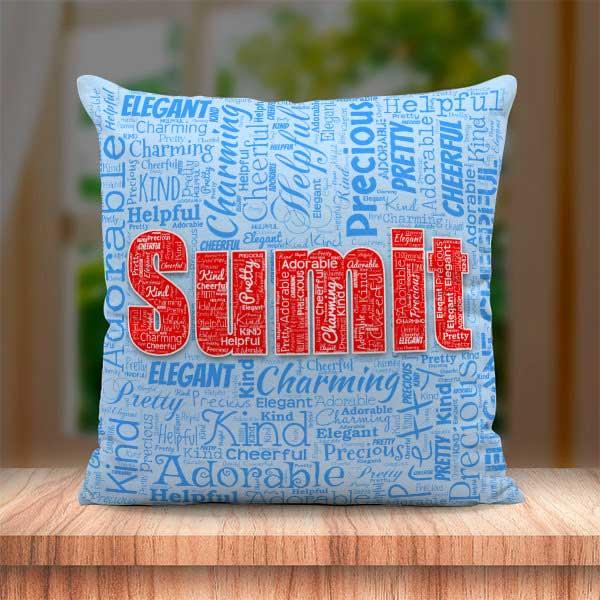 Name Mosaic Cushion BJ115
