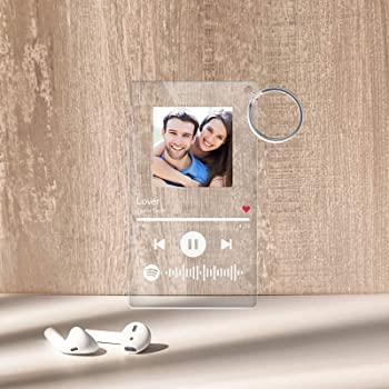 Spotify QR Keychain