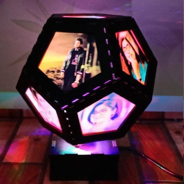 Globe Rotating Lamp