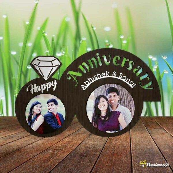 Personalized Ring Photo Frame