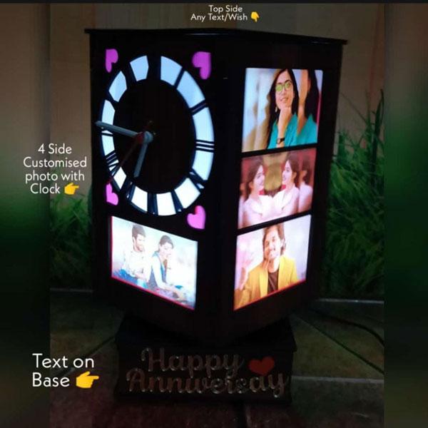 Sublimation Photo Lamp Clock