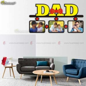 Customized Wooden Dad Frame