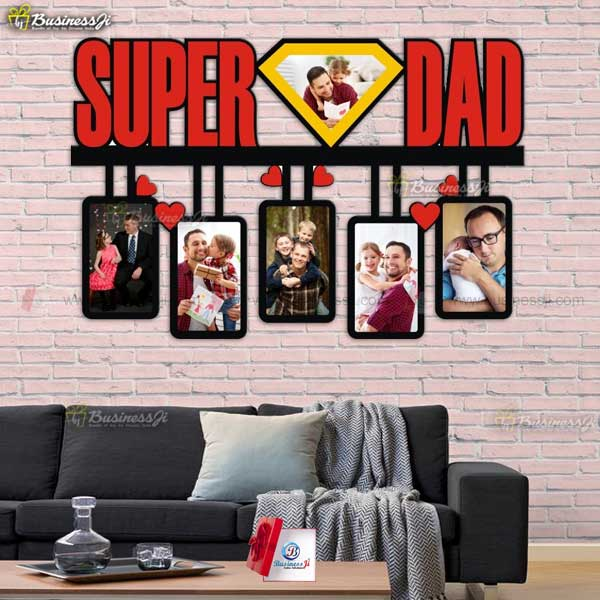 Personalized Super Dad Frame