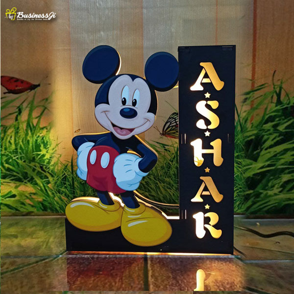 Customized Mickey Mouse Frame