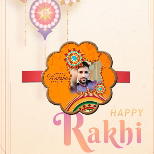 Personalized Photo Rakhi BJR03