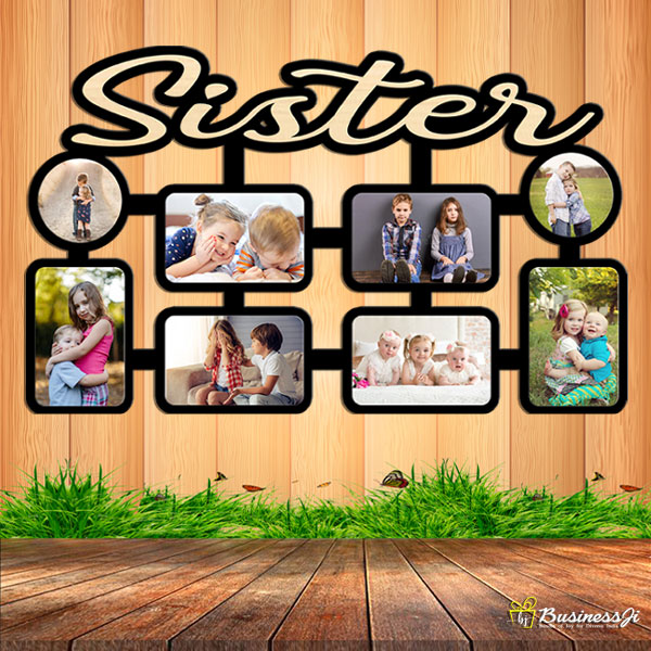 Personalized Sister Wall Collage