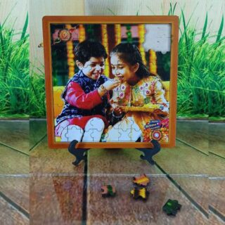 Wooden Photo Puzzle Frame
