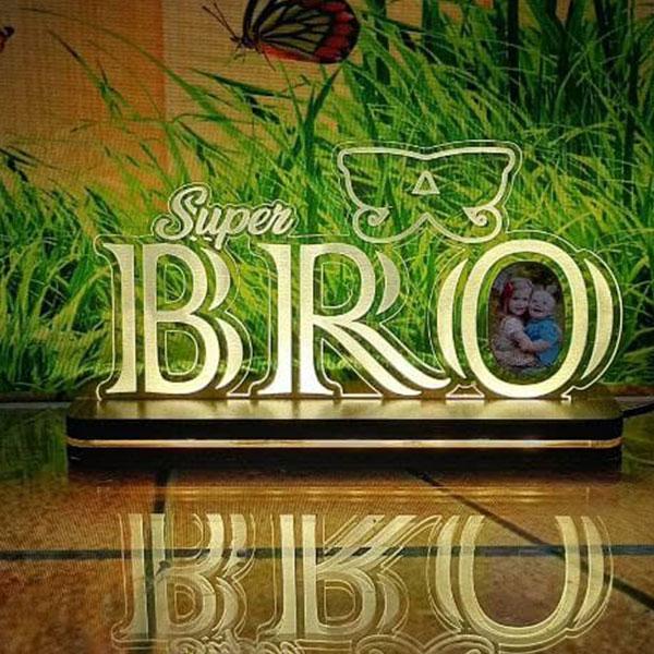 Acrylic LED Super Bro