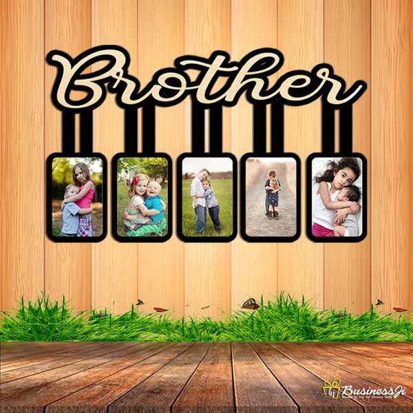 Customized Brother Wall Frame