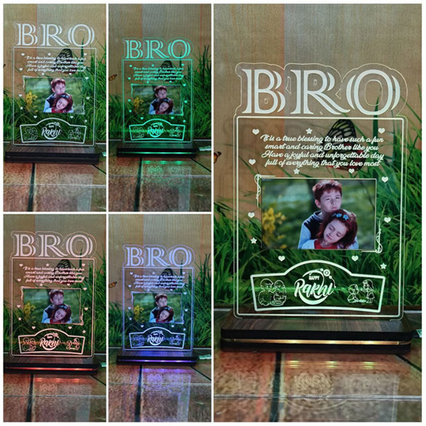 RGB Acrylic Bro Plaque