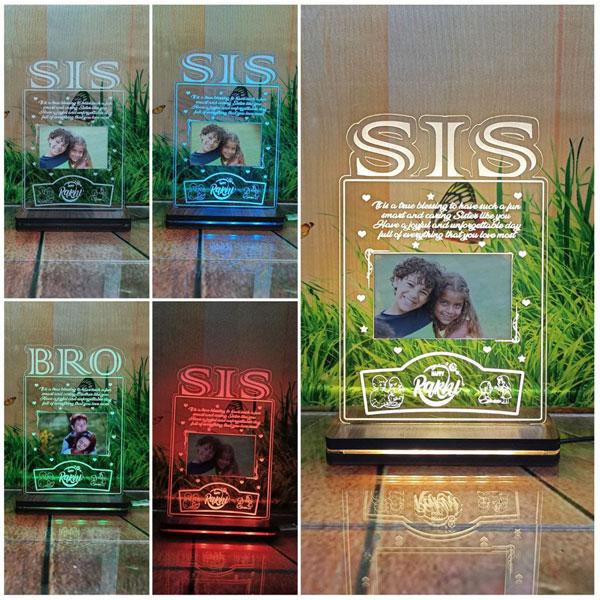 RGB Acrylic Sis Plaque