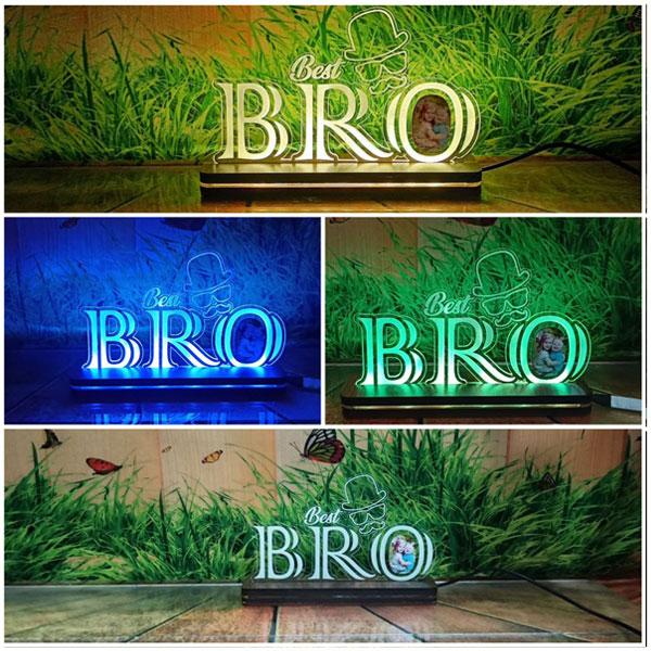 RGB Best Bro Plaque