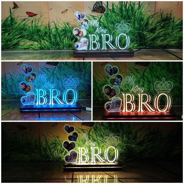 RGB King Bro Plaque