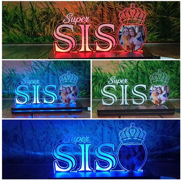 RGB Super Sis Plaque